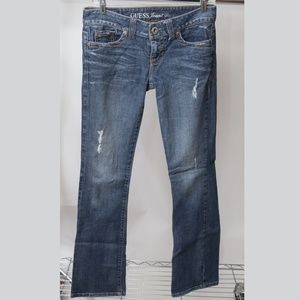 Guess Daredevil Bootcut Jeans Size 28